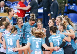 Rewanżowe spotkanie z ASPTT Mulhouse Volley