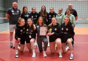 Młodziczki MKS VLO Developres Rzeszów wywalczyły awans do 1/2  MP