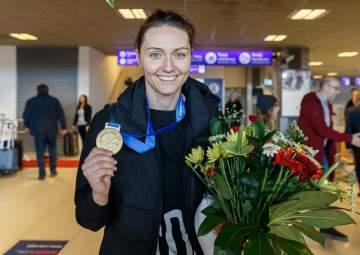 Przywitanie Jeleny Blagojević