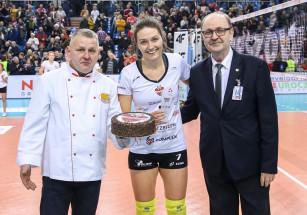 Jelena Blagojević w kadrze Serbii