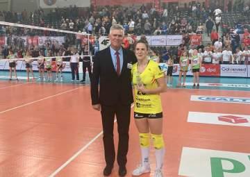 MVP Meczu Daria Przybyła