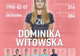 Dominika Witowska nową środkową!