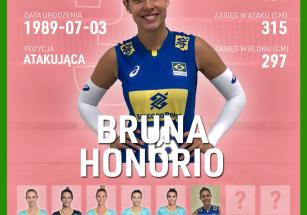 Bruna Honorio nową atakującą!