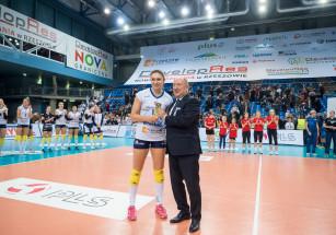 Michaela Mlejnkova wybrana MVP meczu Rzeszowa z Piłą