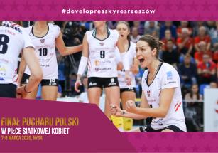 #RazemNaSzczyt - turniej finałowy Pucharu Polski Kobiet w Nysie!