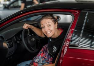 Jelena Blagojević Developres Toyota Dakar