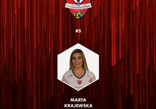 Marta Krajewska nową rozgrywającą
