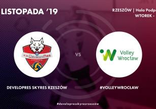 Już w wtorek mecz z #VolleyWrocław!