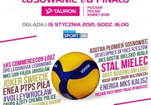 Losowanie 1/8 TAURON Pucharu Polski Kobiet 2021