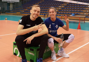Helene Rousseaux wznowiła treningi z KS Developres SkyRes Rzeszów!