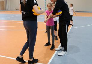 nauka siatkówki developres w zespole szkół