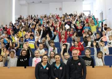 Wizyta w Szkole Podstawowej nr 18 w Rzeszowie