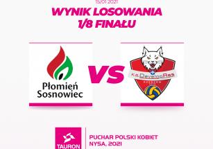Wyniki losowania 1/8 Pucharu Polski 2021