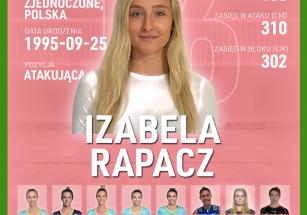 Izabella Rapacz nową atakującą!