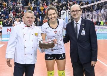 MVP meczu Jelena Blagojević