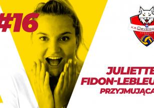 Juliette Fidon-Lebleu w KS DevelopRes Rzeszów