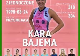 Kara Bajema nową przyjmującą!