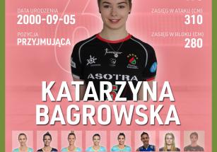 Katarzyna Bagrowska nową przyjmującą!