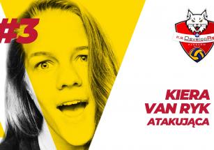 Kiera Van Ryk w KS DevelopRes Rzeszów