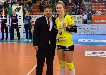 MVP Meczu Aleksandra Krzos