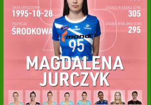 Magdalena Jurczyk nową środkową!