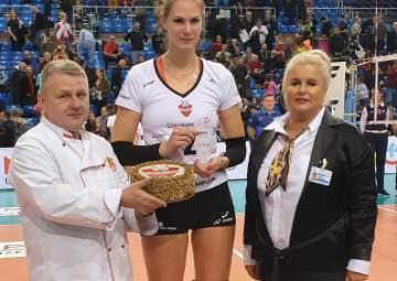 MVP meczu Gabriela Polańska