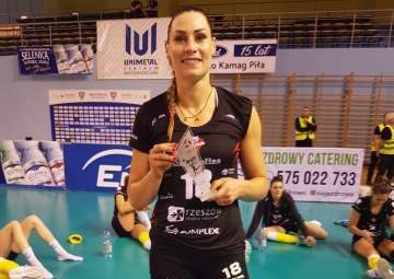 MVP meczu Katarzyna Zaroślińska-Król