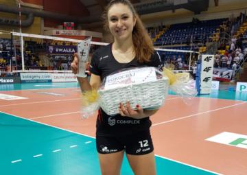 MVP meczu Michaela Mlejnková
