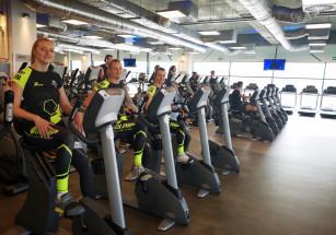 Developres SkyRes Rzeszów w CityFit w sesji dla Olimp Sport Nutrition