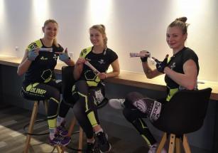 siatkarki Developresu SkyRes Rzeszów dla Olimp Sport Nutrition