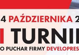 Już za kilka dni VI Turniej o Puchar Firmy Developres!