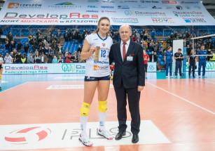 Michaela Mlejnkova wybrana zawodniczką meczu