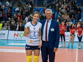 Jelena Blagojević MVP w meczu z KSZO