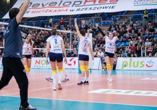Mecze towarzyskie w Policach - ostatni sprawdzian przed Półfinałami Ligi Siatkówki Kobiet!