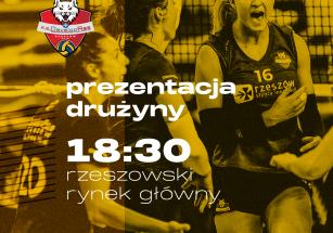Prezentacja drużyny - KS DevelopRes Rzeszów sezon 21/22!