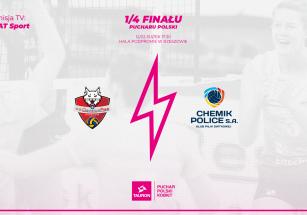 1/4 Pucharu Polski Kobiet 2021!