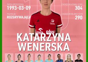 Katarzyna Wenerska nową rozgrywającą!