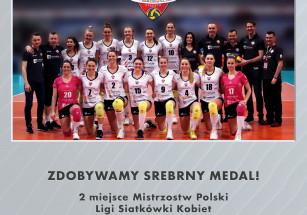 Wicemistrzostwo Polski Ligi Siatkówki Kobiet dla Developresu!