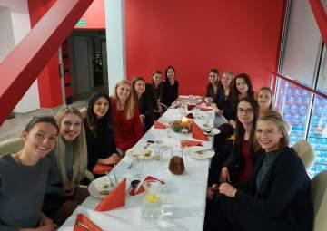 Wigilijna kolacja Developresu SkyRes Rzeszów